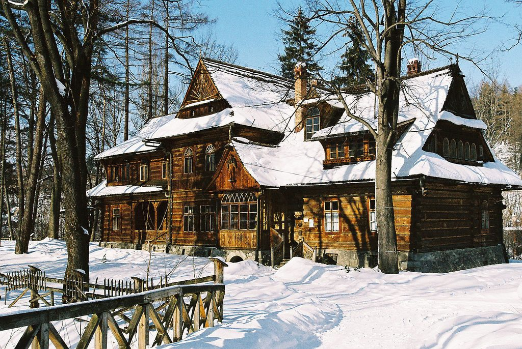Willa Koliba in Zakopane is an exquisite example of Zakopane style architecture