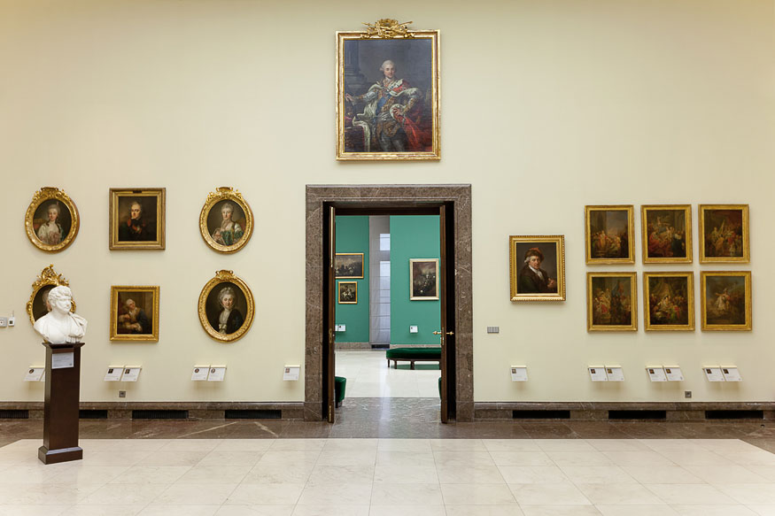 Bacciarelli Room, Gallery of the 19th-century Polish art