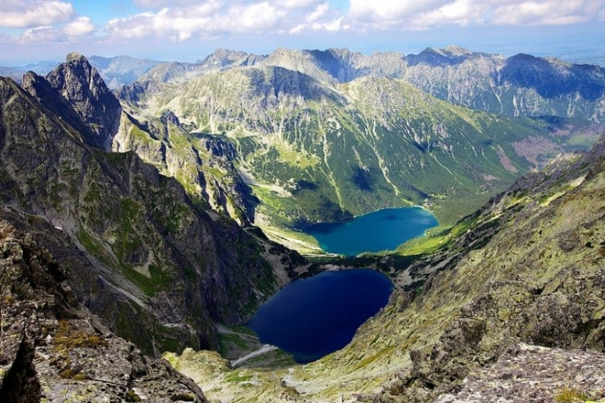 Rysy Mountain is the highest peak in Polish Mountains and a must during your Poland hiking holiday