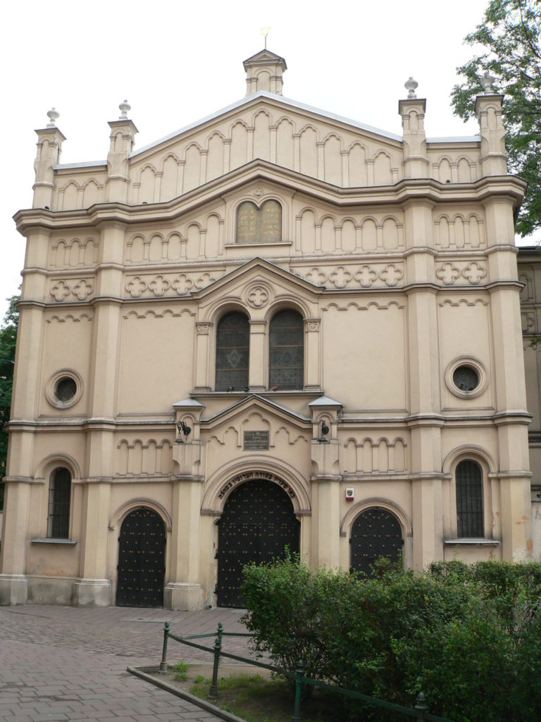 Tempel Synagogue, one of only two active synagogues in the Jewish Quarter in Krakow