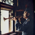 The trumpeter, St. Mary's Basilica