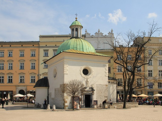Church of St. Adalbert, Krakow Main Square