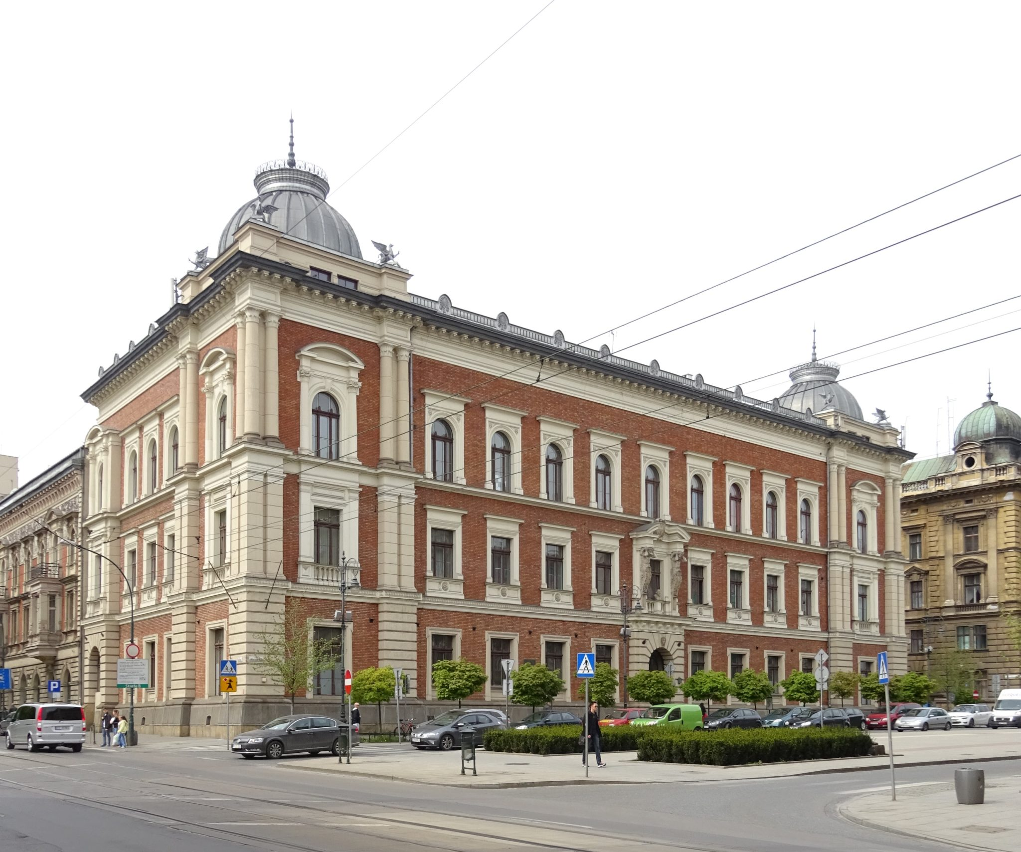 Main building of the Krakow Academy of Fine Arts, Jan Matejko Square