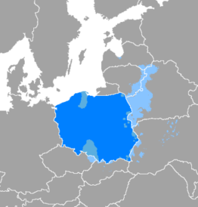 The influence of Polish language on historic Polish lands
