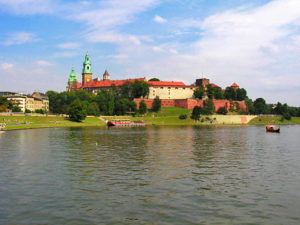 Krakow is the capital of Lesser Poland with Wawel being the seat of Polish monarchy for centuries