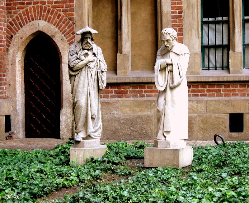 Sculptures of professors, Professors' Garden of Jagiellonian University