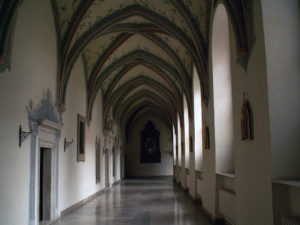 Cloisters in the Cistercian Abbey