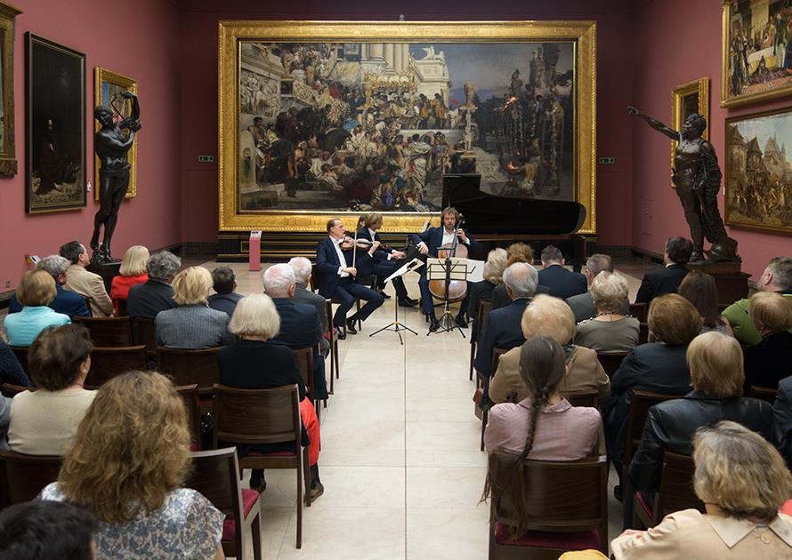Concert in the Gallery of 19th-century art during 2017 Ludwig van Beethoven Easter Festival