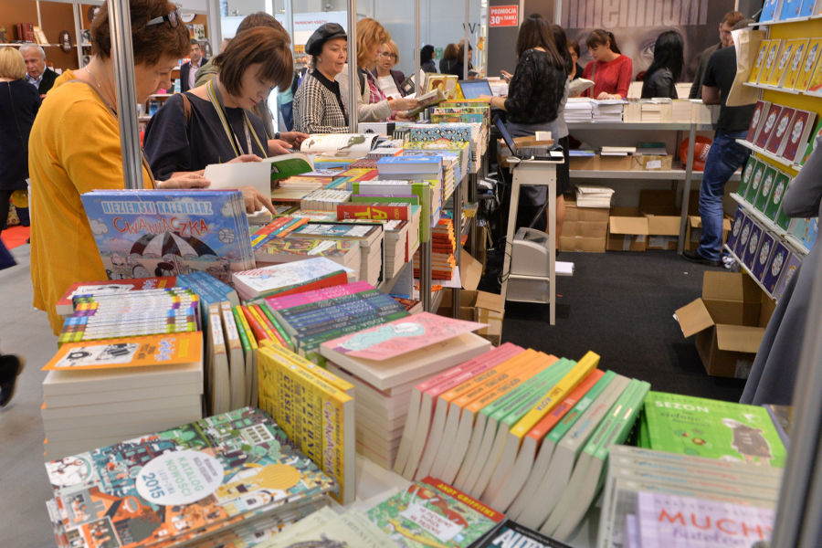 International Book Fair in Krakow