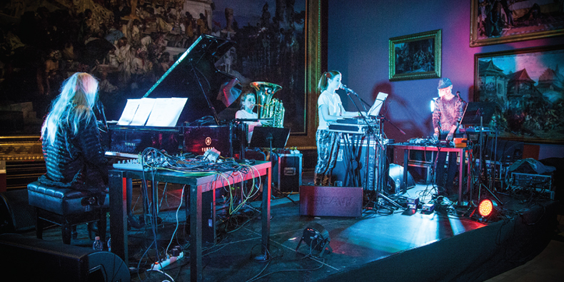 Unsound Festival in Krakow 2016, concert in the Cloth Hall