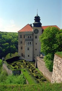 Pieskowa Skala, the only Renaissance castle on the Trail of the Eagles' Nests