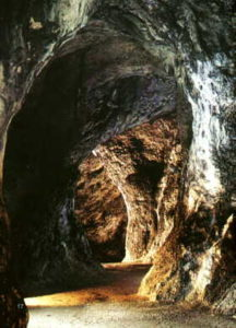 King Elbow-high's Cave near Ojcow on Polish Jura