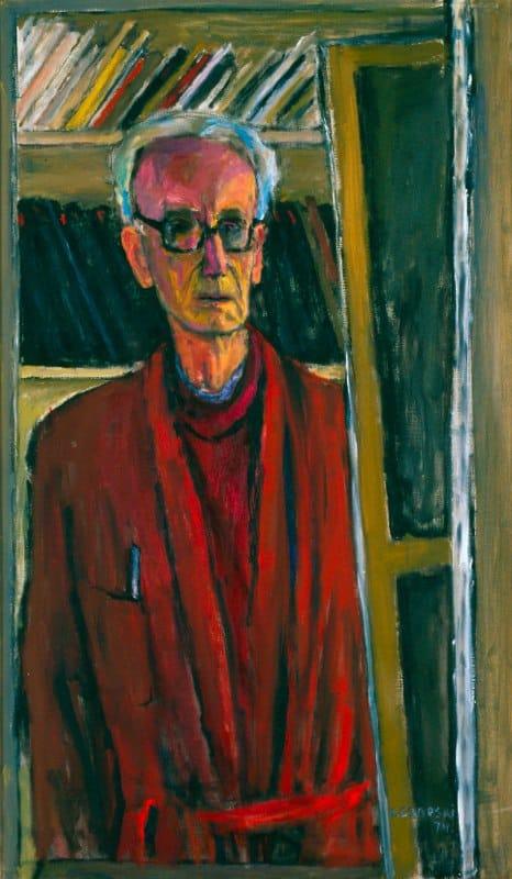 Jozef Czapski, Self-portrait, 1974