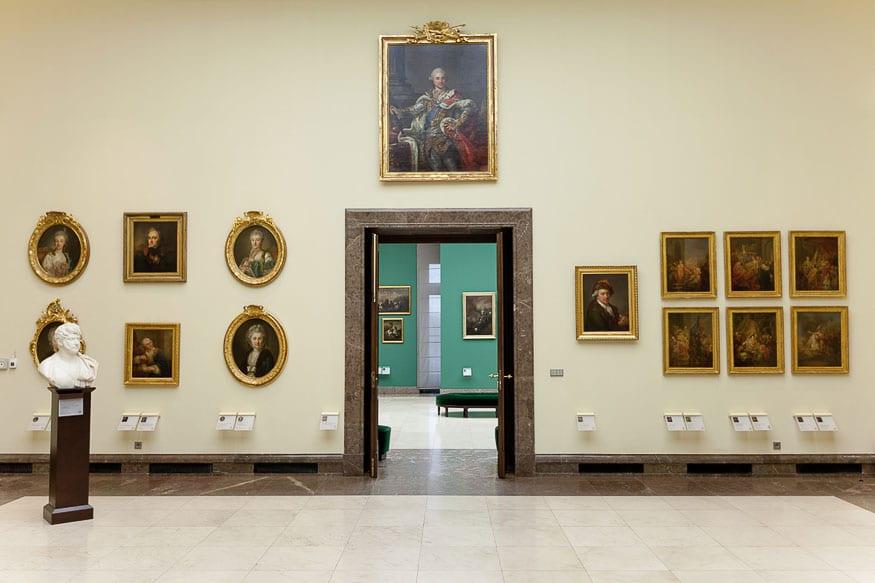 Bacciarelli Room, Gallery of the 19th-century Polish art
