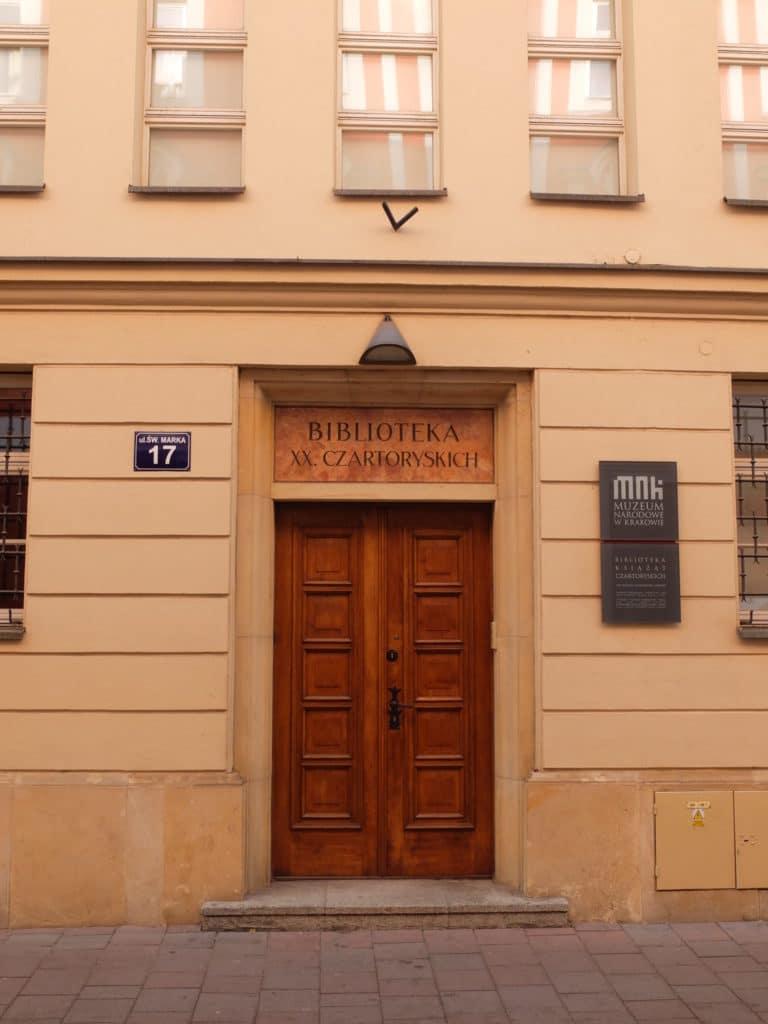 Princes Czartoryski Library