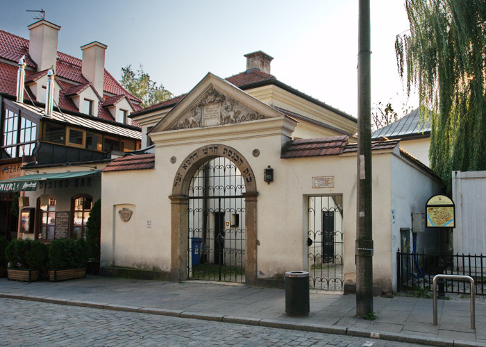 Gate to the Remah Cemetery, 16th-century cemetery on the Jewish Quarter