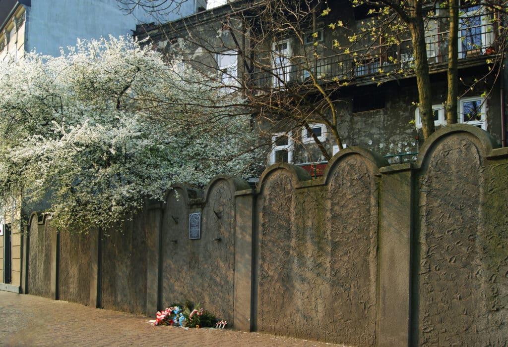 Remains of Ghetto walls, Podgorze Krakow