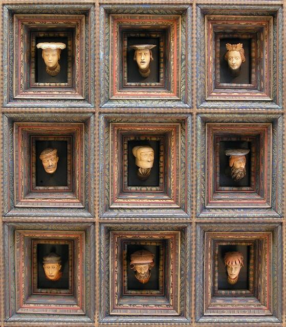 Wawel Heads, Wawel Castle Museum