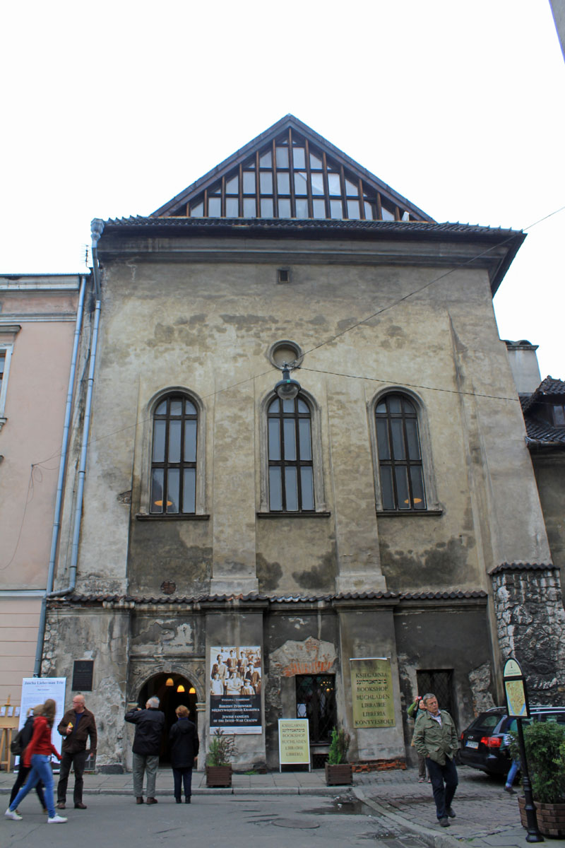 High Synagogue, the tallest synagogue of Kazimierz synagogues