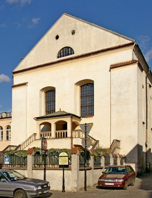 Izaak Synagogue, one of seven Synagogues in Krakow