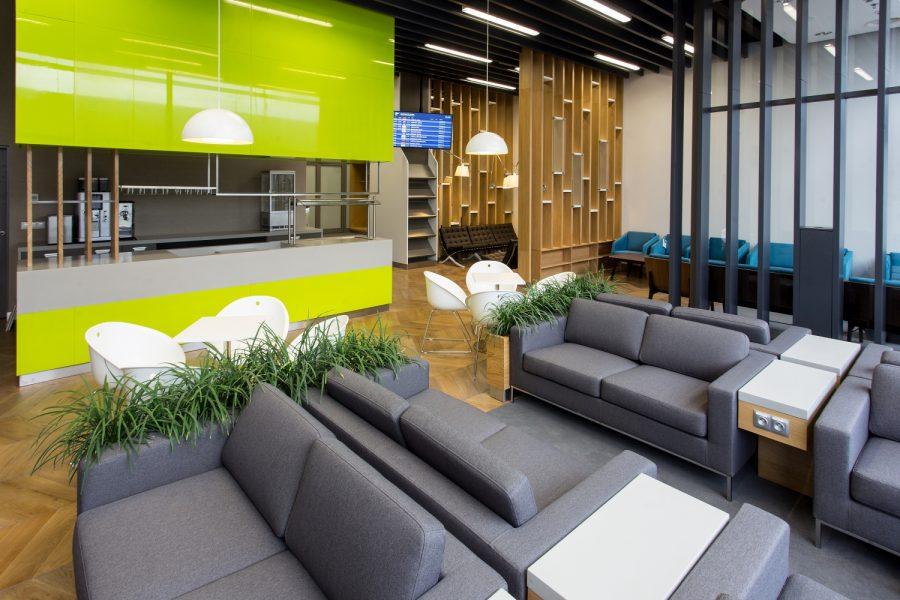 Krakow Airport Lounge
