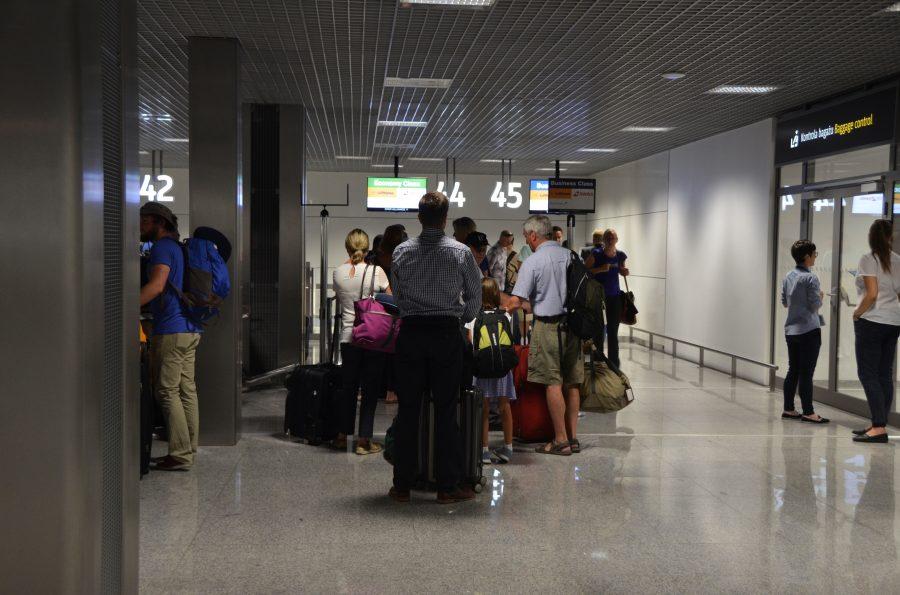 Krakow Airport, Duty-free hall