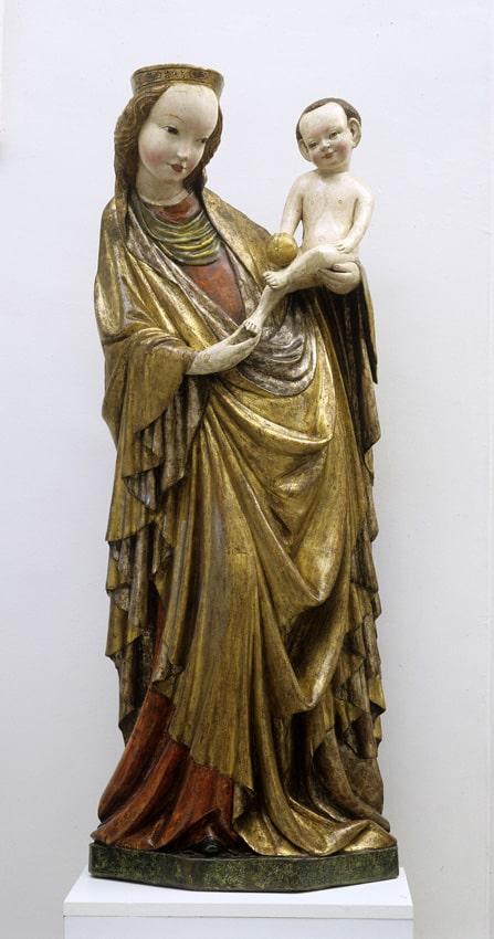 Madonna of Kruzlowa, circa 1410, National Museum in Krakow