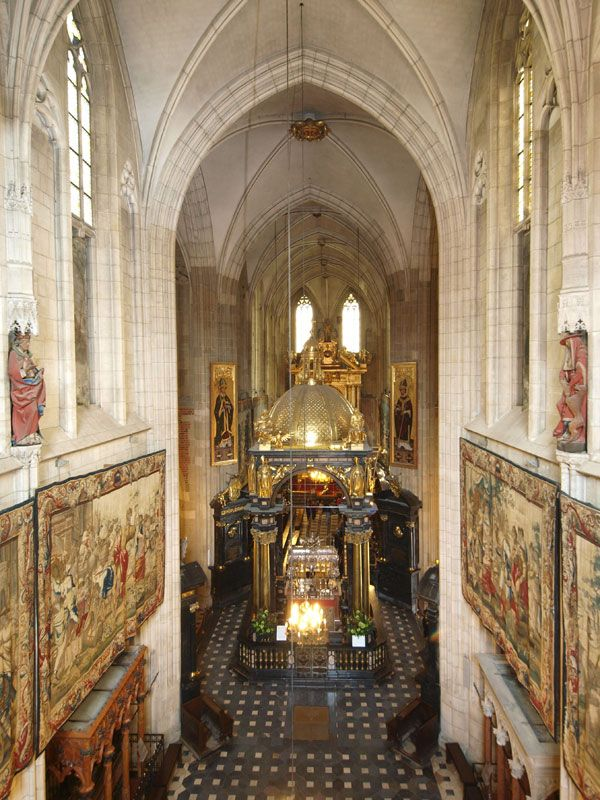 St. Stanislav's mausoleum in the Wawel Cathedral