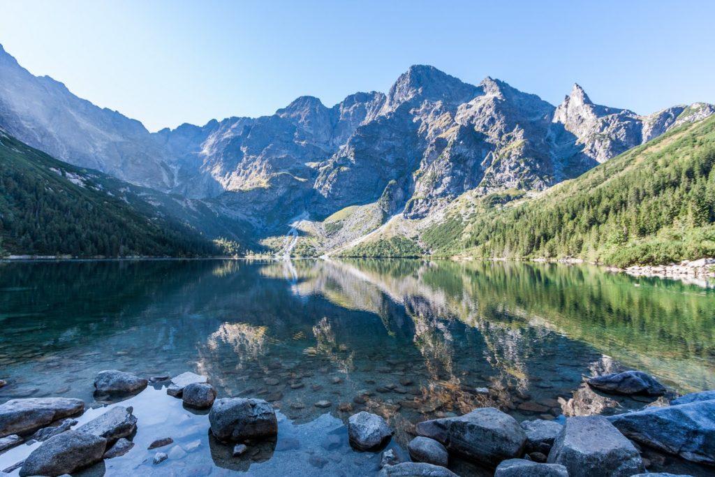 Morskie Oko lake, Tatra Mountains