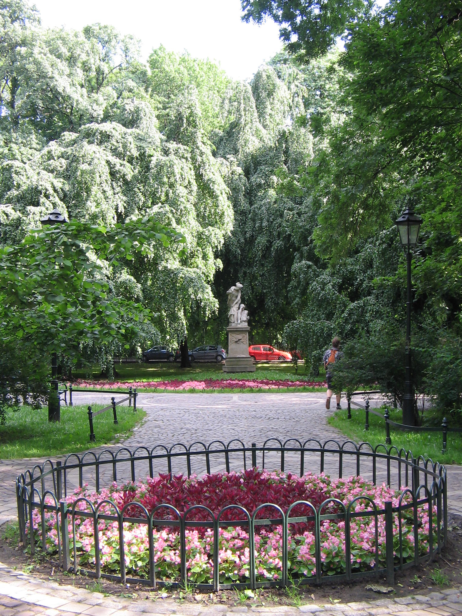 Monument in the Park Planty