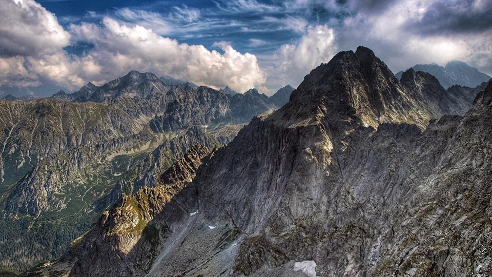 The highest peak of Polish Mountains, Rysy