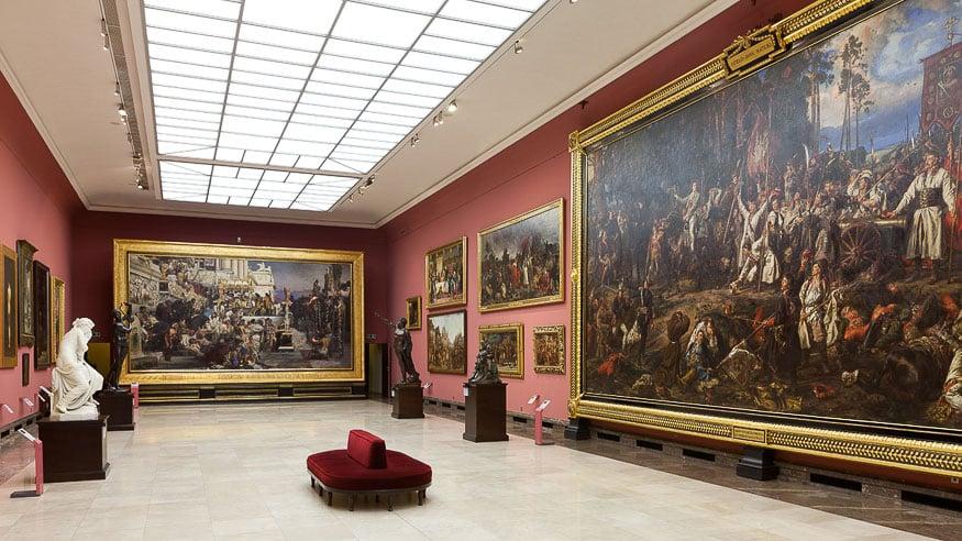 Siemiradzki Room, Gallery of the 19th-century Polish art