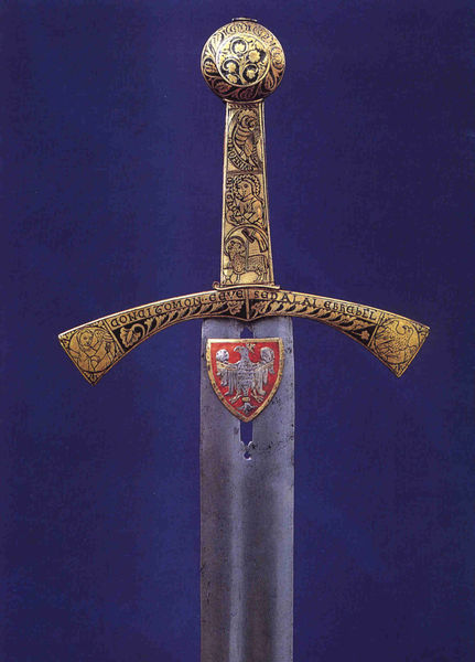 Szczerbiec, the most valuable object in the Wawel Castle history, was a Polish coronation sword used for centuries and is the only surviving Polish Royal Insignia