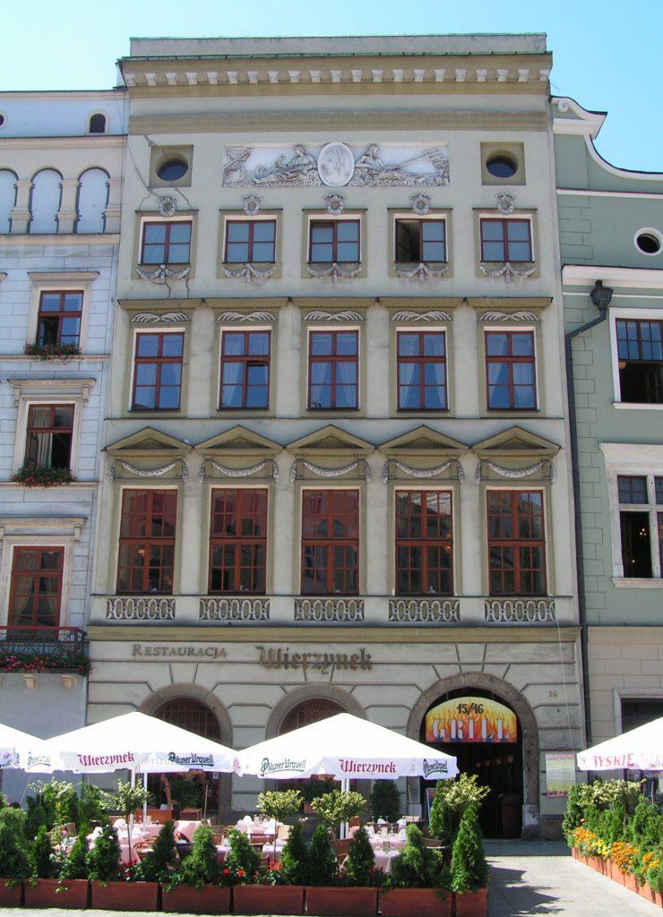 """Townhouse on the Main Square, """"Pod Wierzynkiem"""" Restaurant"""