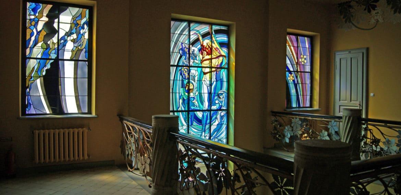 Wyspianski Stained Glass