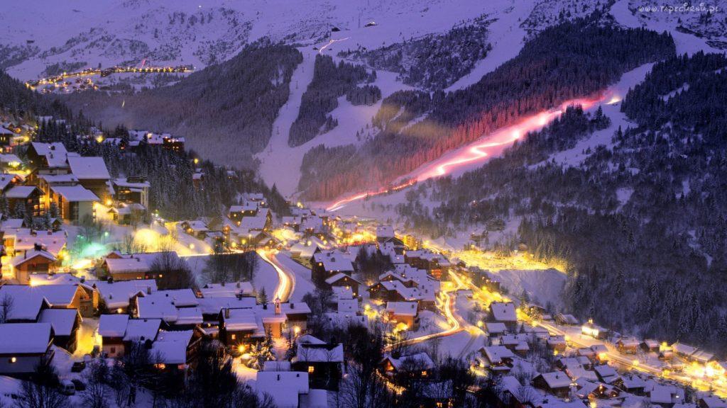 Zakopane in winter, Tatra Mountains