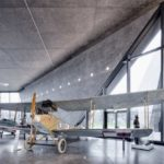 Exhibition hall of the Polish Aviation Museum in Krakow
