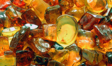 Amber jewellery in Krakow