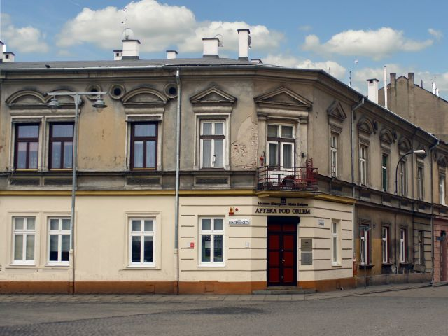 The Eagle Pharmacy, branch of the Historical Museum of Krakow