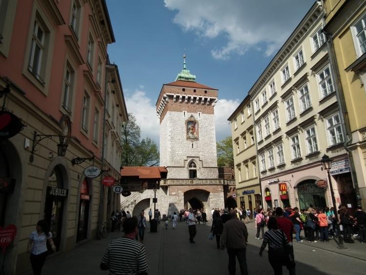 St. Florian's Gate and Florianska Street