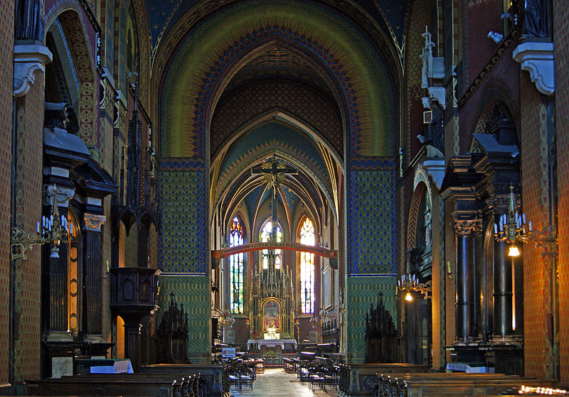 Presbytery in Church of St. Francis of Assisi