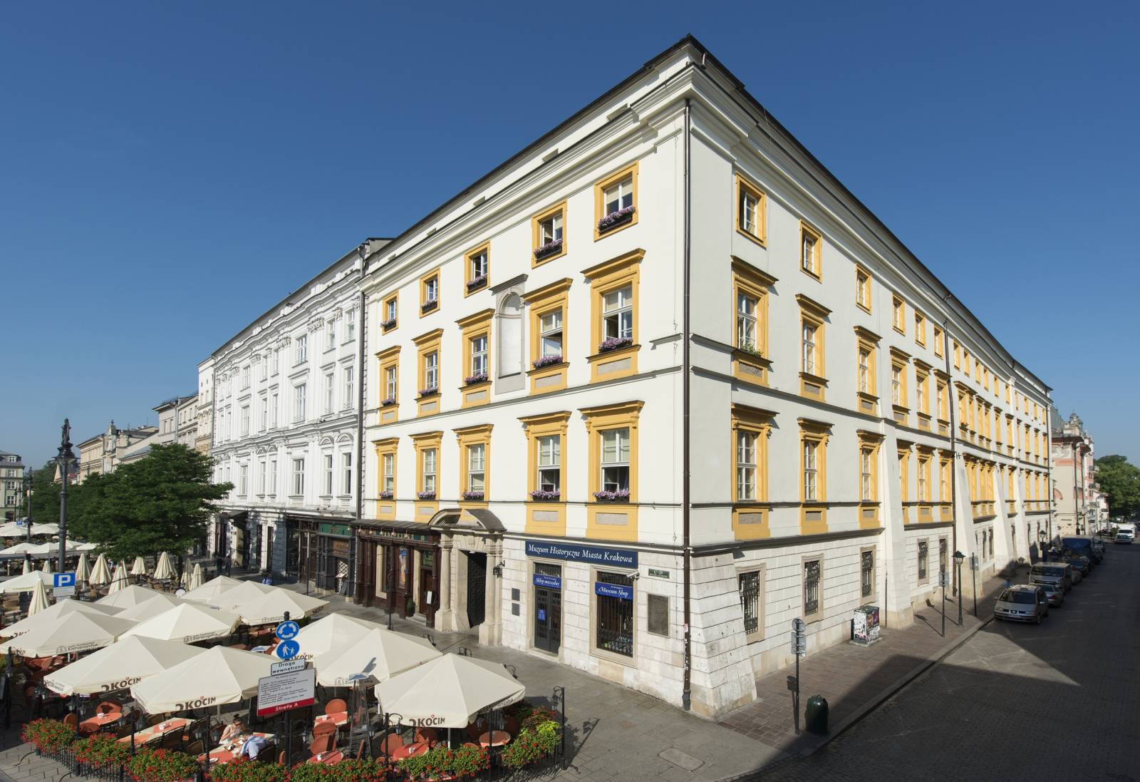 Krzysztofory Palace, branch of the Historical Museum of Krakow