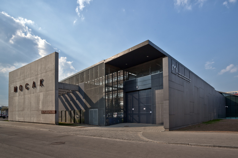 Main building of the Museum of Contemporary Art in Krakow