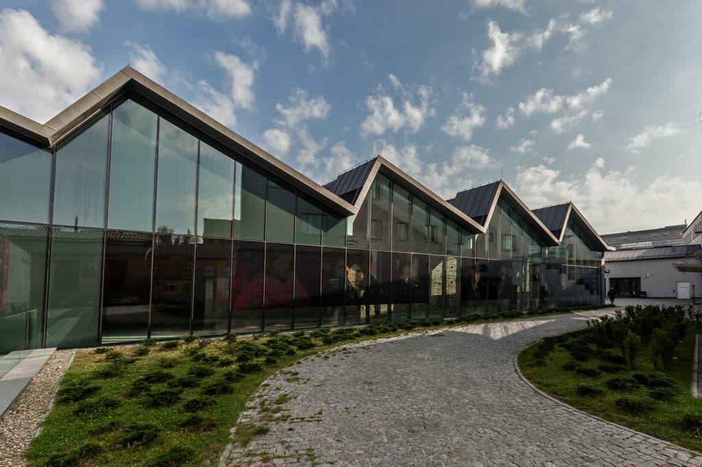 MOCAK exhibition hall