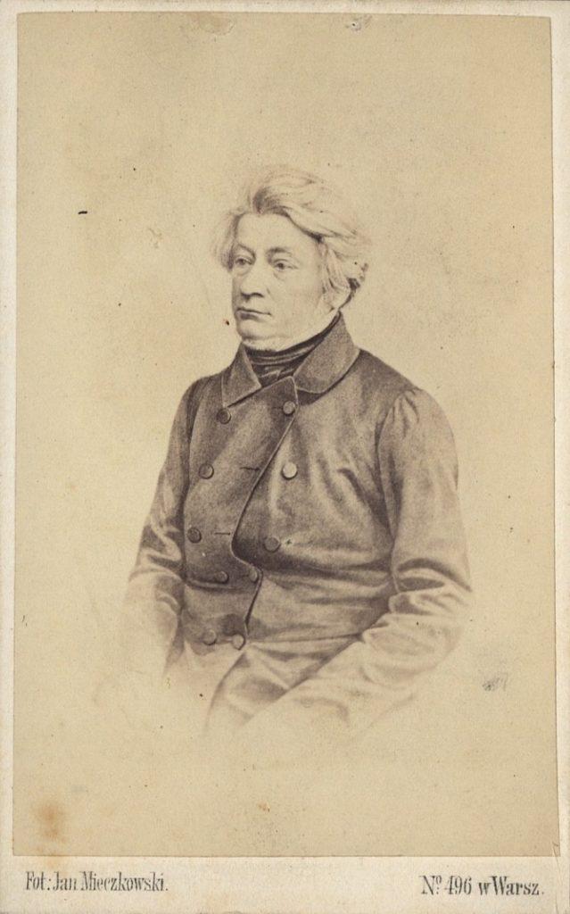 Adam Mickiewicz, photography by Jan Mieczkowski