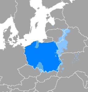 The influence of Polish language on historic Polish lands