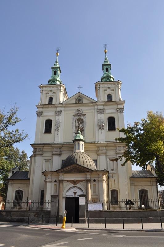 Baroque facade of St. Florian's Church