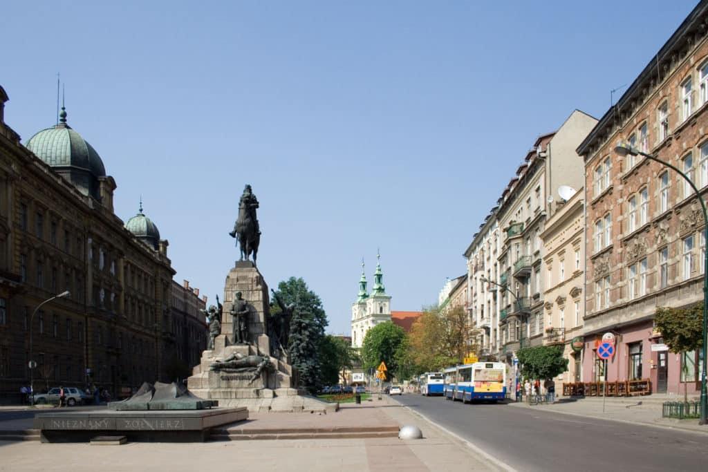 St. Florian's Church on Matejko Square