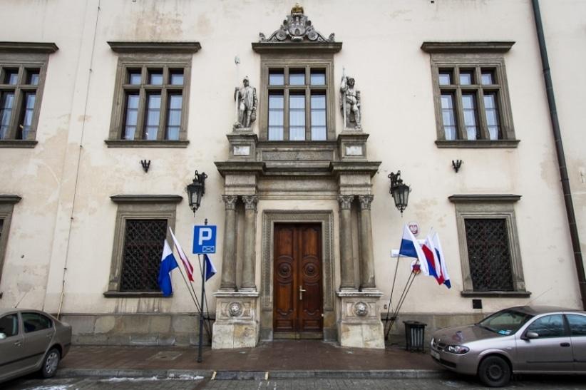 Entrance to Wielopolski Palace