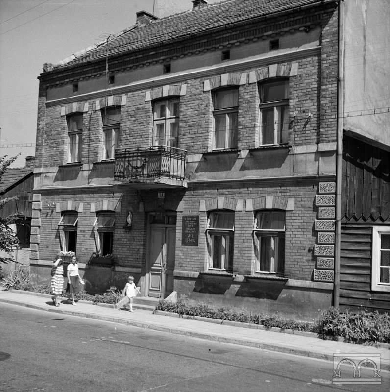 Zwierzyniec House, photography from 1967